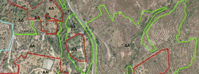 Δασικοί Χάρτες - Κτηματολόγιο
